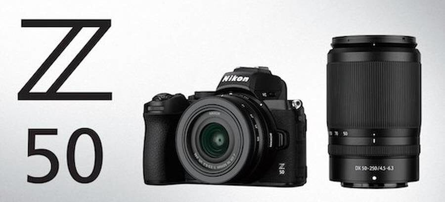 Nikon Z50 mirrorless camera first look review & features