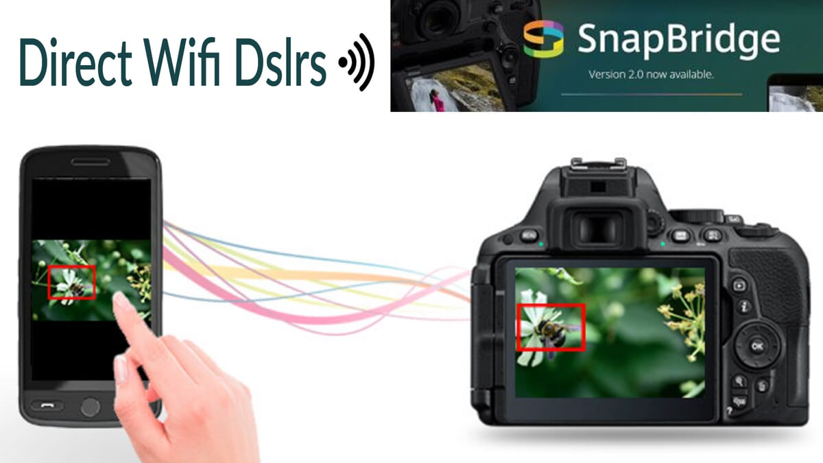 How to connect or tether Nikon camera to mobile phone computer via WiFi
